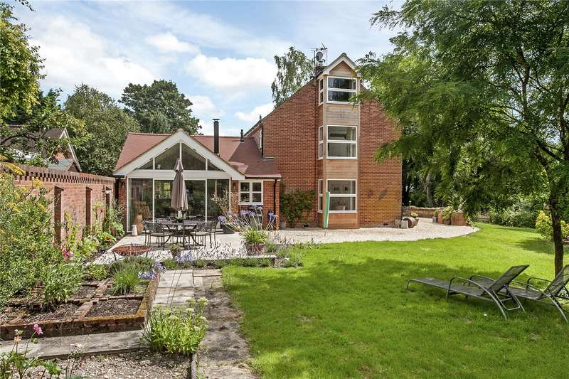 4 Bedrooms Detached House for sale in Mill Lane, Abbots Worthy, Winchester, Hampshire, SO21