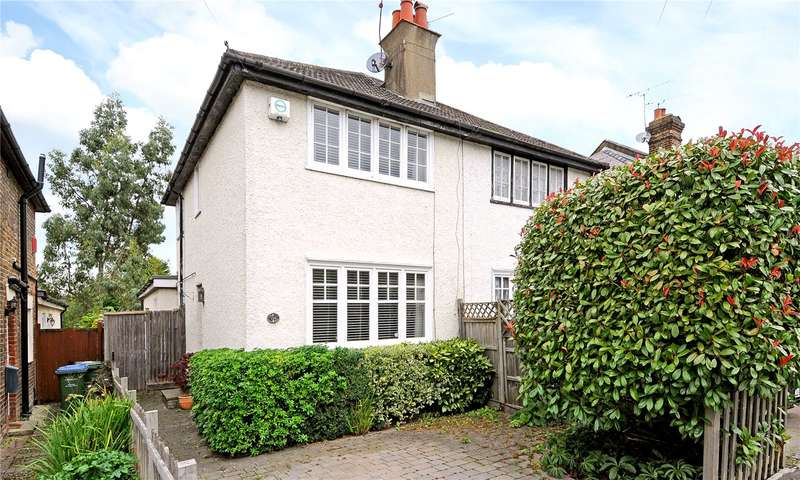 3 Bedrooms Semi Detached House for sale in Coverts Road, Claygate, Esher, Surrey, KT10