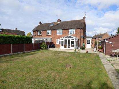 4 Bedrooms Semi Detached House for sale in Felsted, Dunmow, Essex