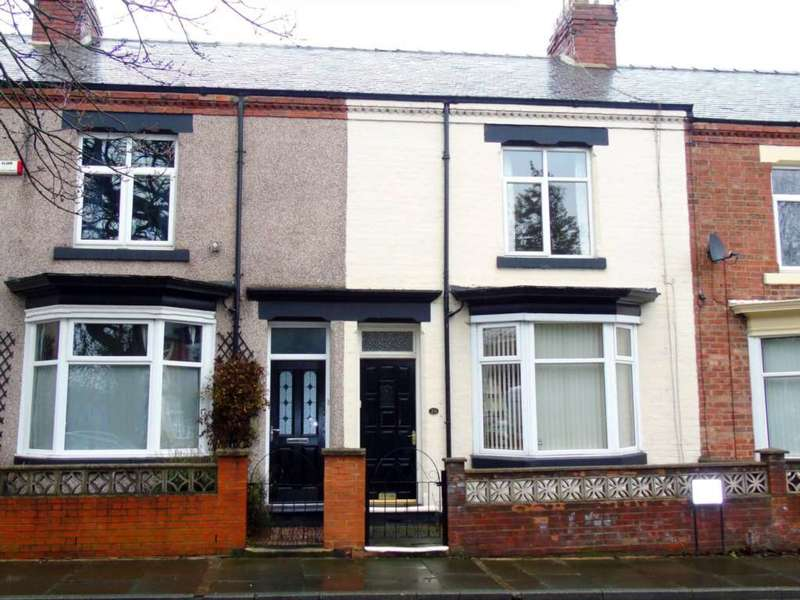 2 Bedrooms Terraced House for sale in Elmfield Terrace, Darlington, DL3 6NA