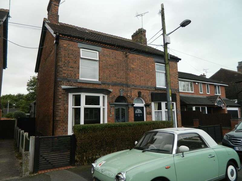 2 Bedrooms Semi Detached House for sale in Belle Vue Terrace, Sandbach