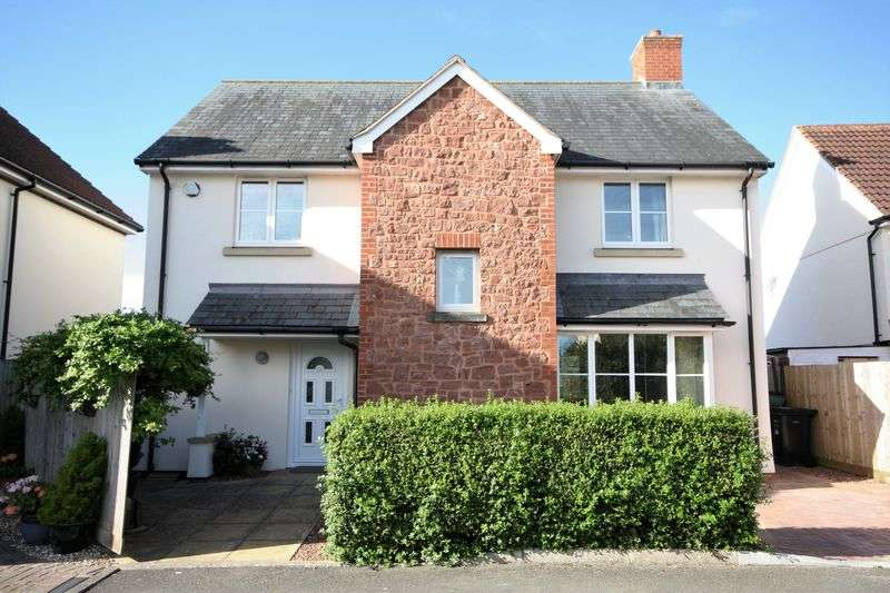 4 Bedrooms Detached House for sale in Shutgate Meadow, Williton