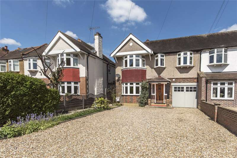 5 Bedrooms Semi Detached House for sale in Oldfield Road, Hampton, TW12