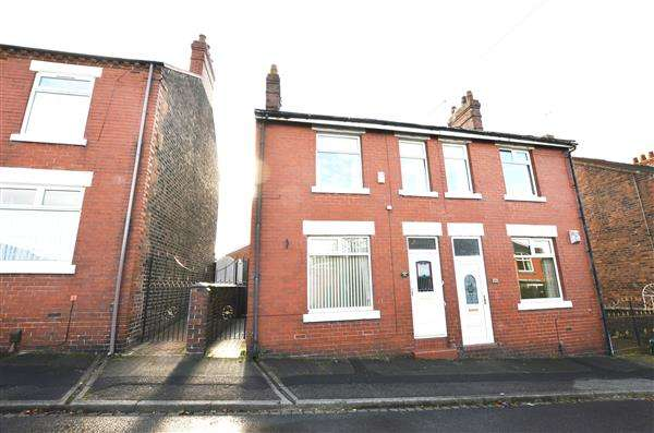3 Bedrooms Semi Detached House for sale in George Street, Chesterton, Newcastle