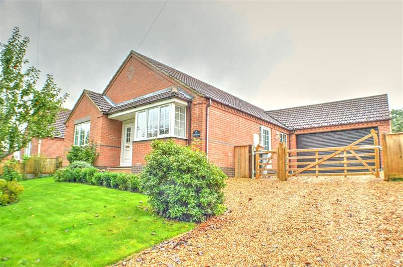 3 Bedrooms Bungalow for sale in Aveland Way, Aslackby, Sleaford