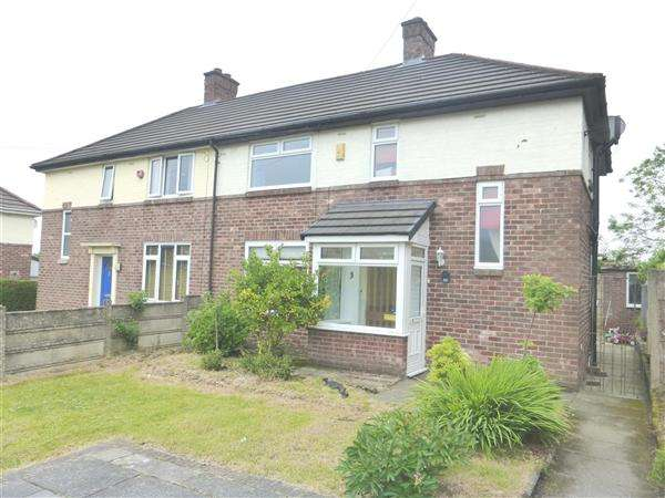 3 Bedrooms Semi Detached House for sale in Kentmere Avenue, St. Helens