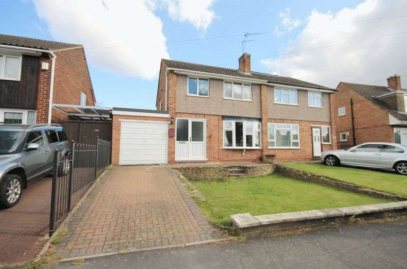 3 Bedrooms Semi Detached House for sale in BIRCHOVER WAY, ALLETSREE