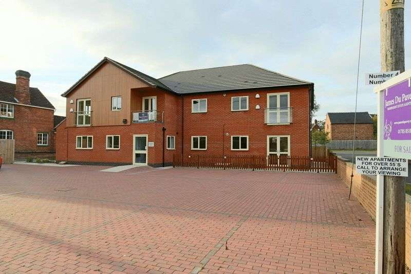 2 Bedrooms Flat for sale in Fountain Court, Wharf Road, Gnosall
