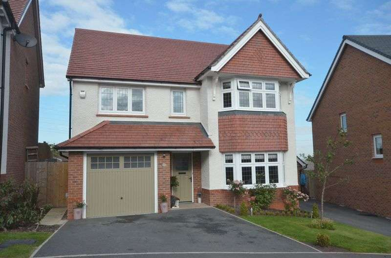 4 Bedrooms Detached House for sale in Overlea Drive, Hawarden