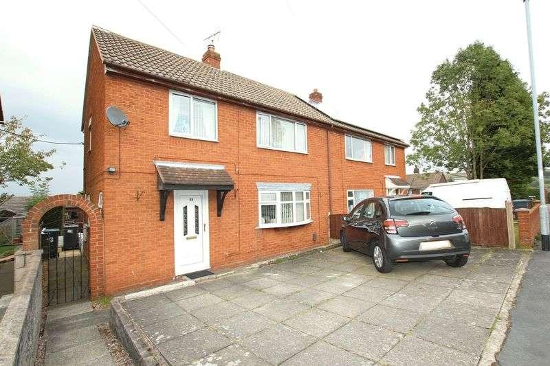 3 Bedrooms Semi Detached House for sale in Edgeley Road, Biddulph