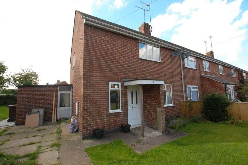 2 Bedrooms House for sale in Coronation Crescent, Uttoxeter