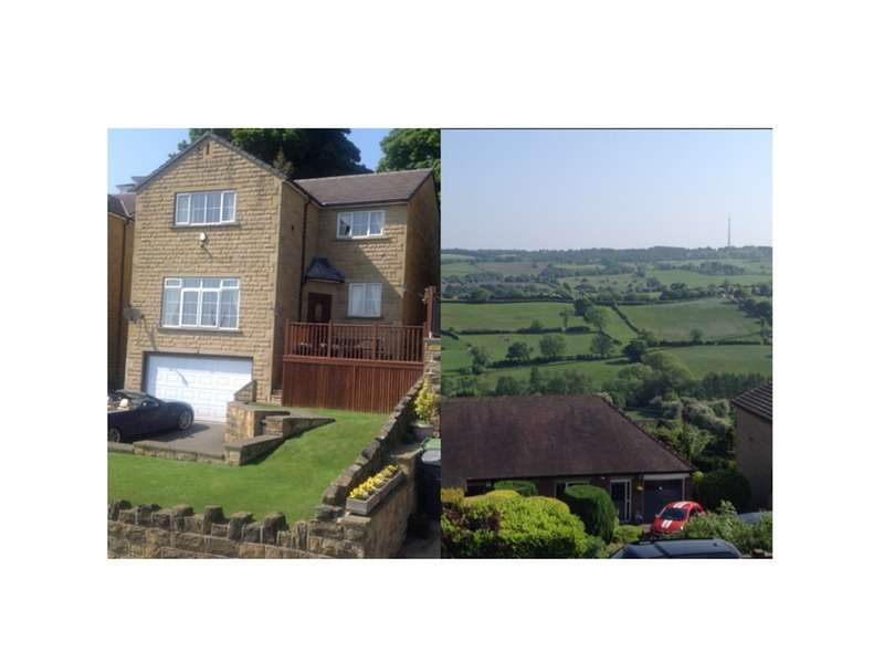 4 Bedrooms Detached House for sale in Whitley Road, Dewsbury, West Yorkshire, WF12