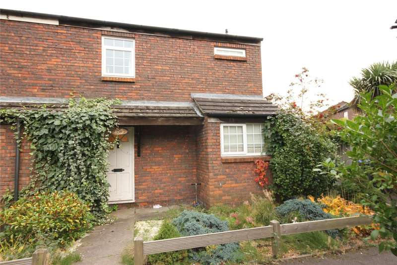 3 Bedrooms End Of Terrace House for sale in Rainbow Court, Woking, Surrey, GU21