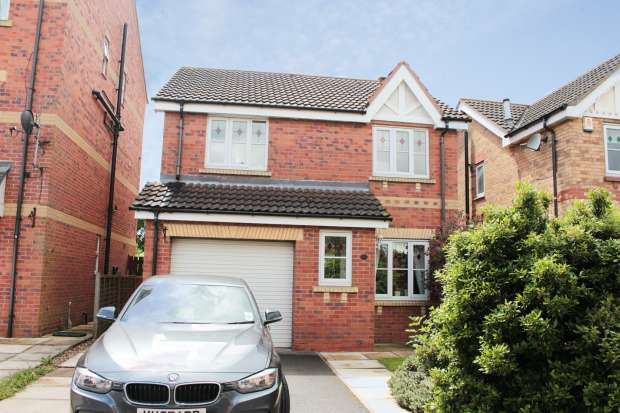 3 Bedrooms Detached House for sale in Shuttle Close, Doncaster, South Yorkshire, DN11 0FR