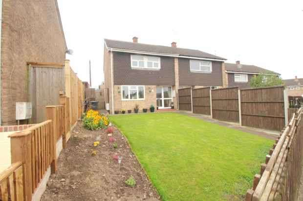 3 Bedrooms Semi Detached House for sale in Ashdean, Cinderford, Gloucestershire, GL14 2LL
