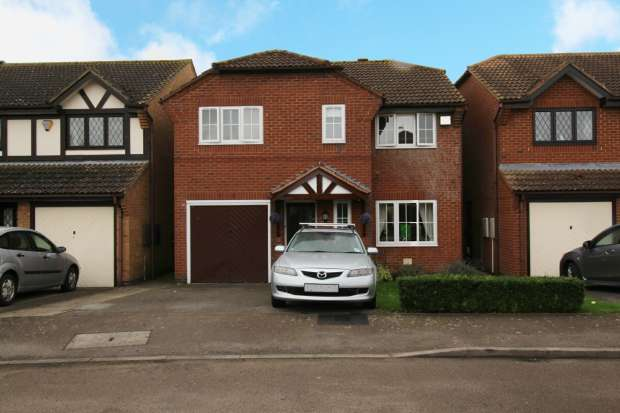4 Bedrooms Detached House for sale in Ravencroft, Bicester, Oxfordshire, OX26 6YQ