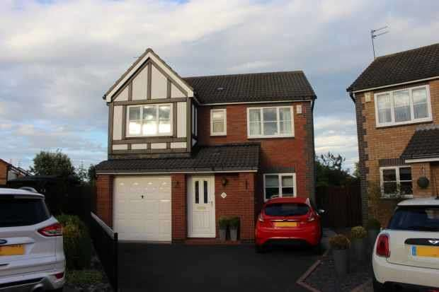4 Bedrooms Detached House for sale in Halkirk Way, Cramlington, Northumberland, NE23 3FZ