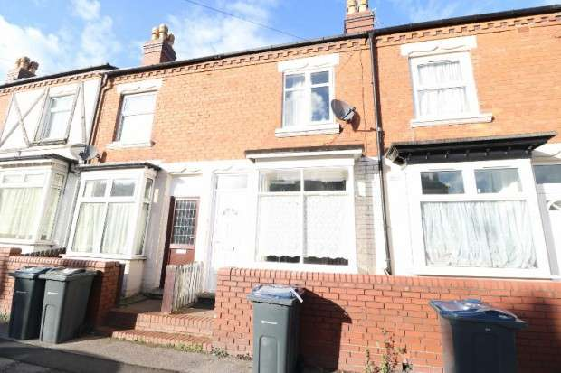 2 Bedrooms Terraced House for sale in Preston Road, Hockley, B18