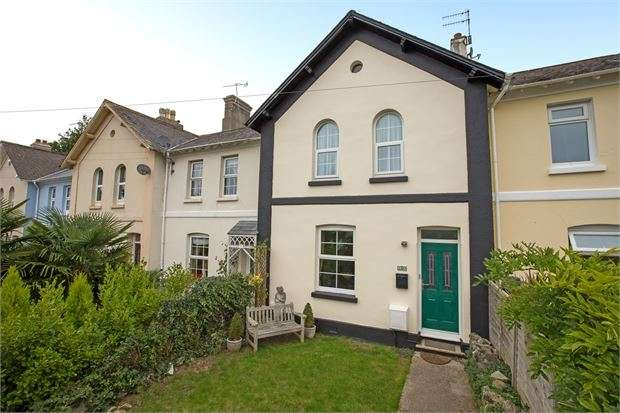 3 Bedrooms Terraced House for sale in Linden Terrace, Newton Abbot, Devon. TQ12 1LL