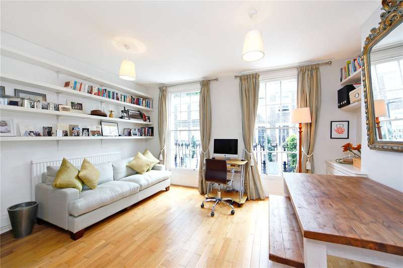2 Bedrooms Flat for sale in Georgiana Street, London, NW1