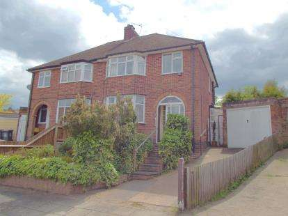 3 Bedrooms Semi Detached House for sale in Lancing Avenue, Leicester
