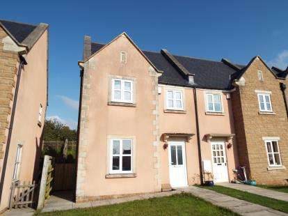 2 Bedrooms End Of Terrace House for sale in South Horrington Village, Wells, Somerset