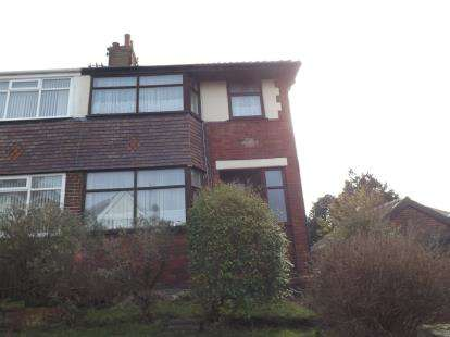 3 Bedrooms Semi Detached House for sale in Bertrand Avenue, Blackpool, Lancashire, FY3