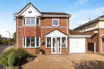 3 Bedrooms Detached House for sale in Hornbeam Close, Penwortham, Preston, Lancashire, PR1
