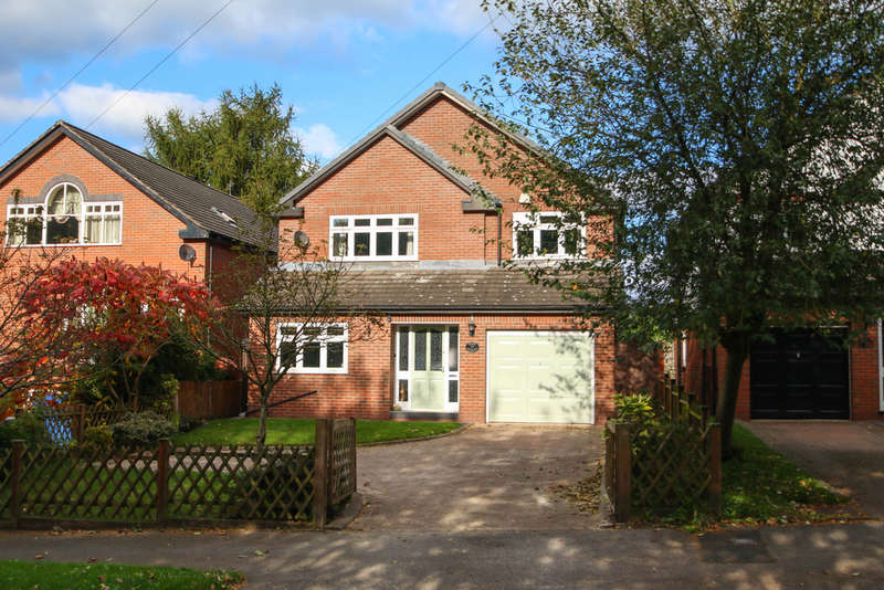 4 Bedrooms Detached House for sale in High Street, Norley