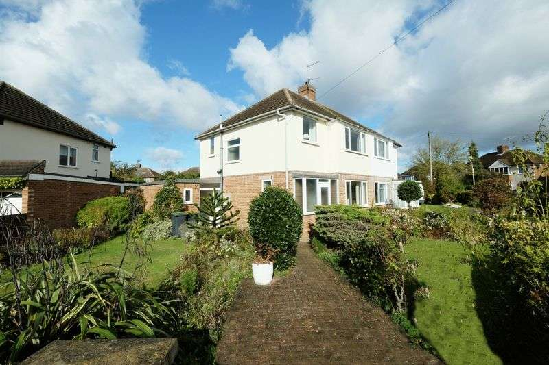 3 Bedrooms Semi Detached House for sale in Wendover Drive, Bedford