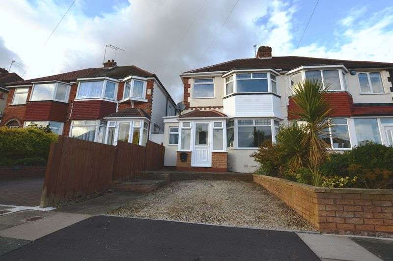 3 Bedrooms Semi Detached House for sale in Edgemond Avenue, Birmingham
