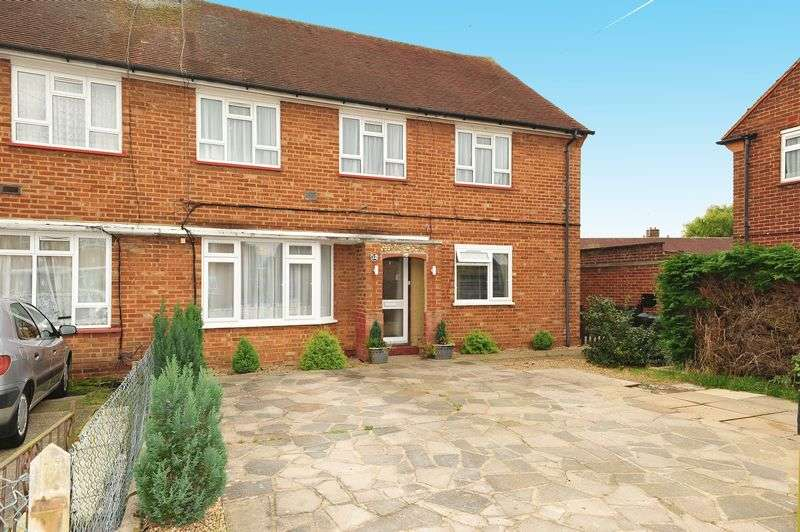 2 Bedrooms Flat for sale in Ash Close, Harefield