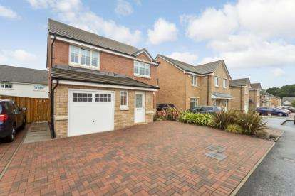 3 Bedrooms Detached House for sale in Heron View, Motherwell