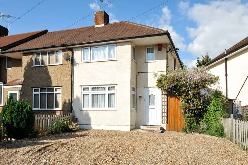 3 Bedrooms End Of Terrace House for sale in Dudley Drive, South Ruislip, Middlesex, HA4
