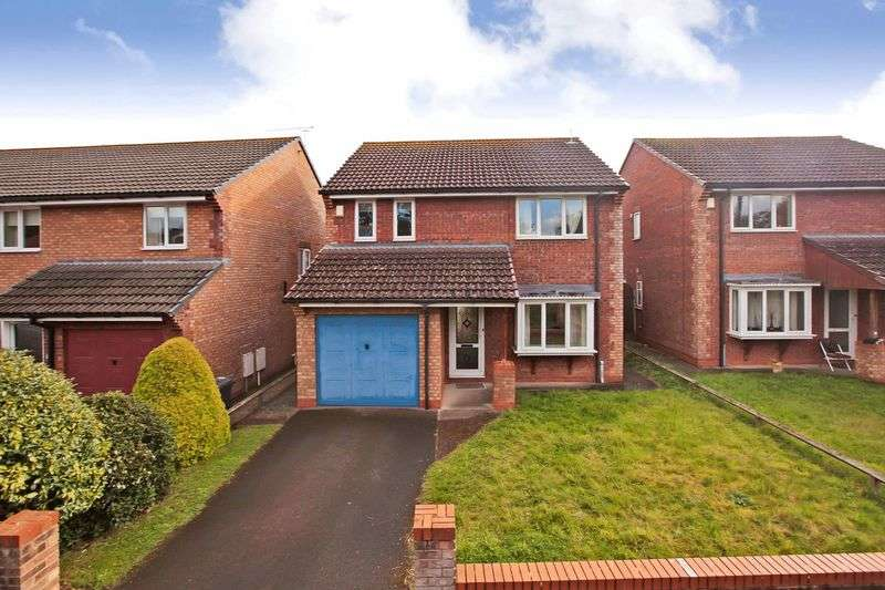 4 Bedrooms Detached House for sale in Binding Close, North Petherton