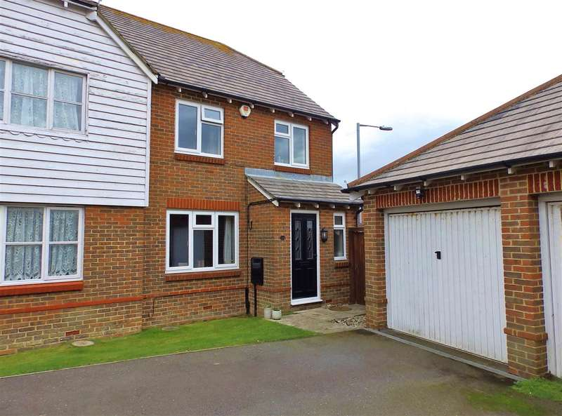 3 Bedrooms Semi Detached House for sale in Orwell Close, Stone Cross, Pevensey