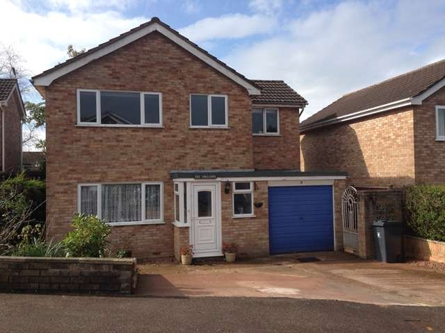 4 Bedrooms Detached House for sale in Washbrook View, Ottery St Mary