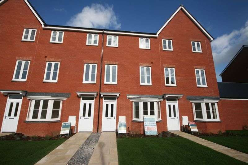 4 Bedrooms Terraced House for sale in Plot 321 'The Nightingales', North Petherton