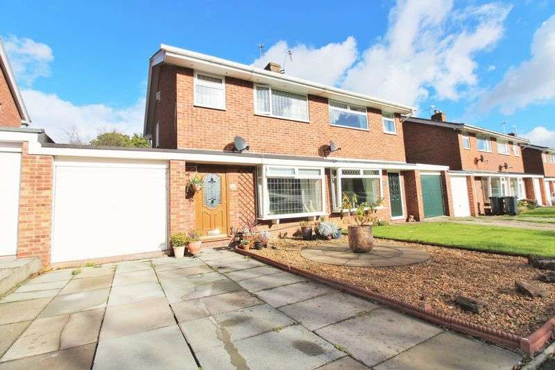3 Bedrooms Semi Detached House for sale in Oaklands, Chester