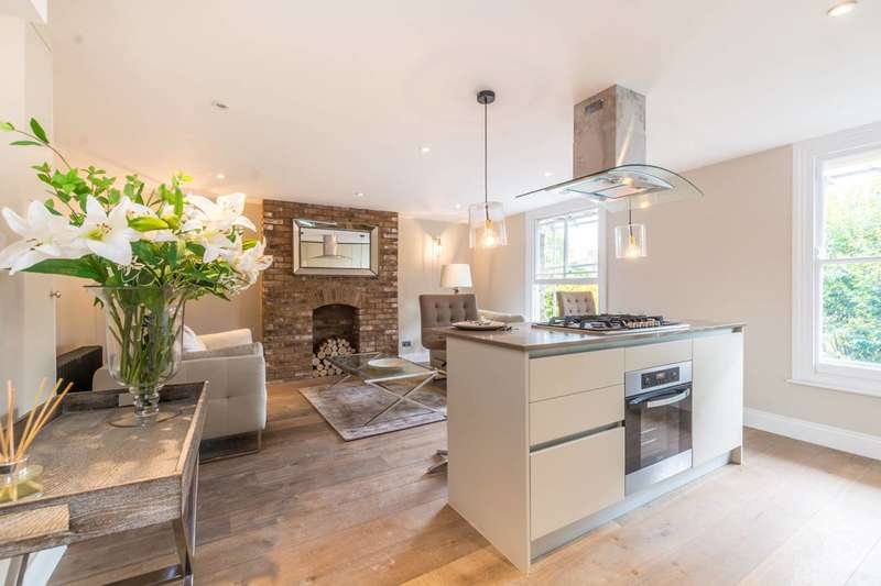 2 Bedrooms Flat for sale in Brownswood Road, Finsbury Park, N4