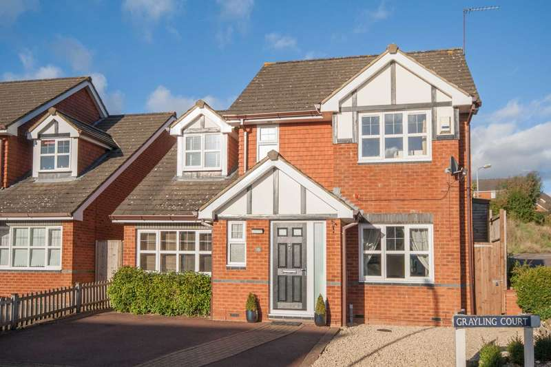 4 Bedrooms Detached House for sale in Grayling Court, Berkhamsted
