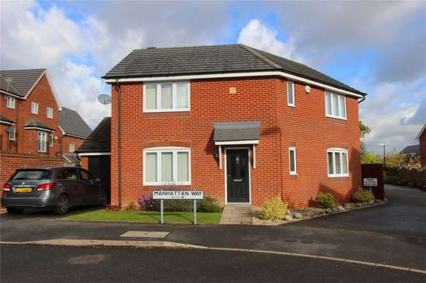 3 Bedrooms Detached House for sale in Manhattan Way, Bannerbrook, COVENTRY