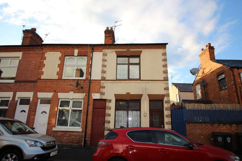 2 Bedrooms End Of Terrace House for sale in Marshall Street, Leicester