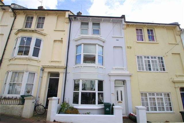 4 Bedrooms Terraced House for sale in Clyde Road, Brighton, East Sussex, BN1 4NP