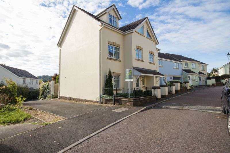 4 Bedrooms Terraced House for sale in Chestnut Crescent, Chudleigh, Newton Abbot