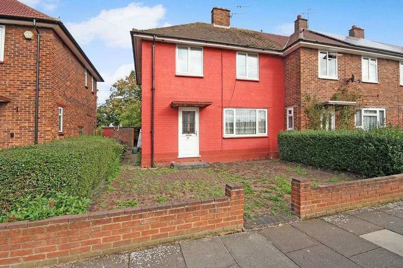 3 Bedrooms Terraced House for sale in Greenhill Gardens, Northolt