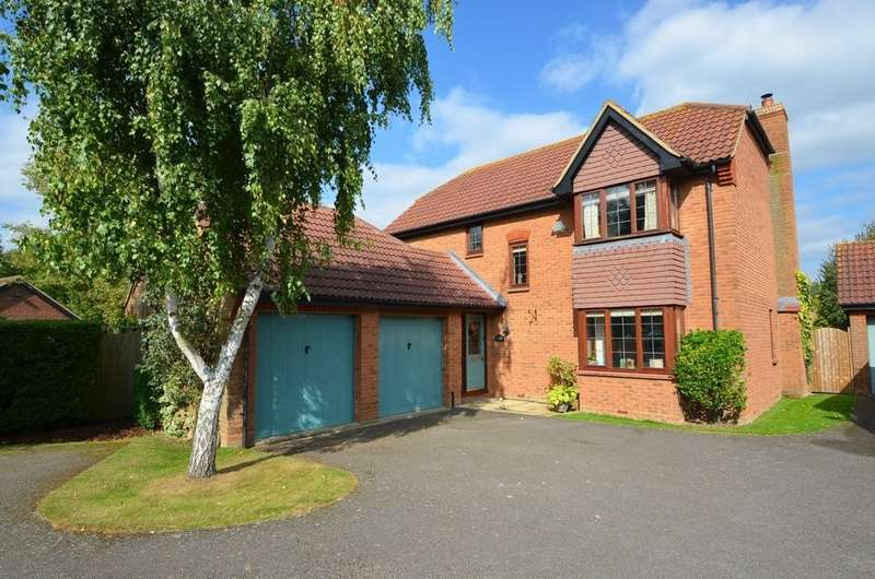 4 Bedrooms Detached House for sale in Aikman Green, Grandborough, Rugby