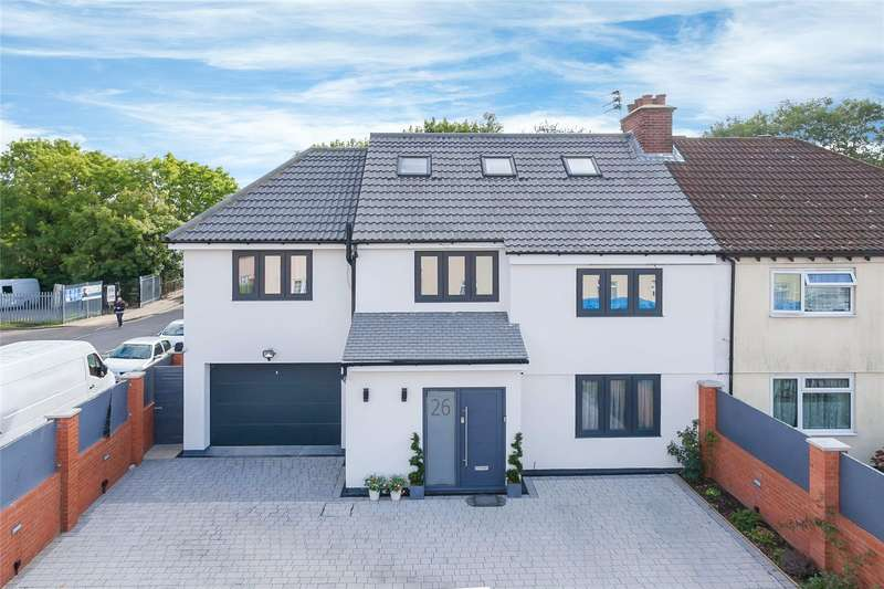 6 Bedrooms Semi Detached House for sale in Chandos Crescent, Edgware, HA8