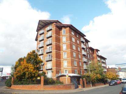 2 Bedrooms Flat for sale in Osbourne House, Queen Victoria Road, Coventry, West Midlands