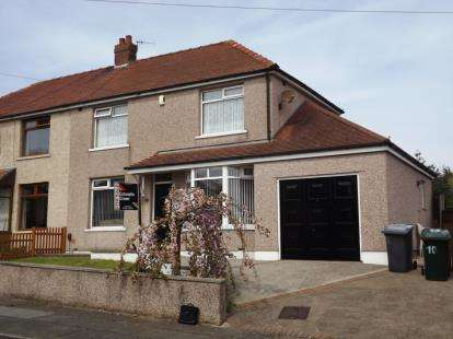 3 Bedrooms Semi Detached House for sale in Essex Road, Morecambe, Lancashire, United Kingdom, LA4